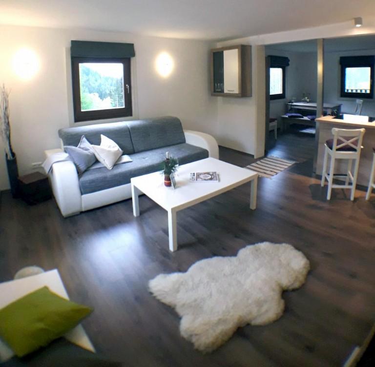 Ferienhaus-Iselsberga-Wohnzimmer